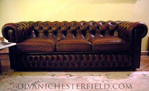 Divani Usati In Pelle.Divani Chesterfield Usati In Pelle Vintage Originali Inglesi